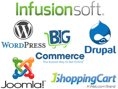 Successful Integration of open source content management systems with third party ecommerce software.