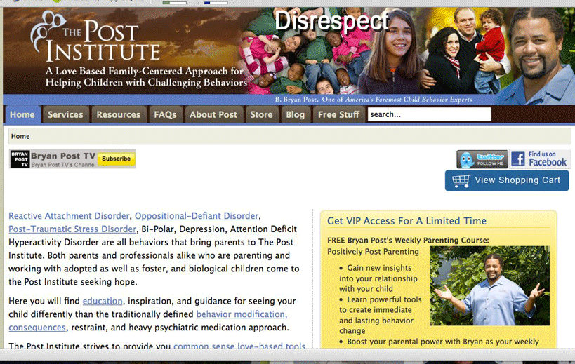 Post Institute Website