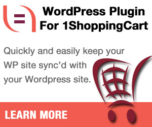 Your WordPress website will never be out of sync with your 1ShoppingCart.com prices ever again. Get our WordPress Plugin for 1ShoppingCart.com today!