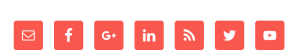 Simple Social Icons rendered properly after W3 Total Cache CDN purged.
