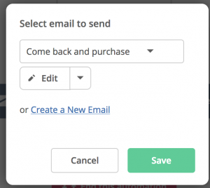 Abandoned Cart Reminder - ActiveCampaign Add Action Email