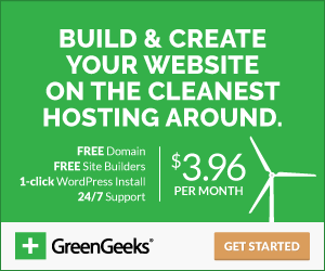 GreenGeeks Website Hosting